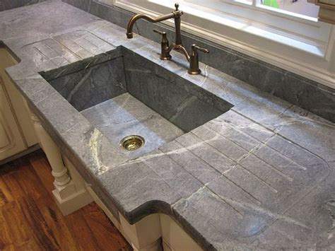 Soap Counters by Kitchen Soapstone Countertop Kitchen Countertop