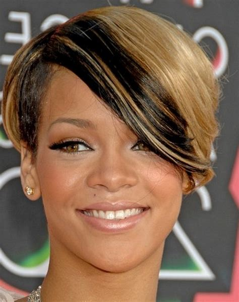 Rihanna Hairstyles by Rihanna Hairstyles Rihanna Photo 30555983 Fanpop