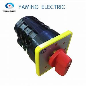 Tyre Handler Tire Changer Switch Hz5b Series 20a 3 Phase 3 Position Rotary Switch Changeover Cam