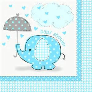 Baby Boy Shower Napkins