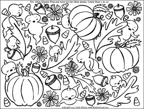 coloring pages fall fall coloring pages to and print for free