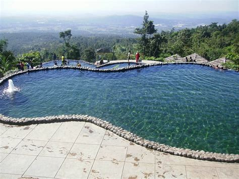 intip  potret kolam renang eksotis umbul sidomukti