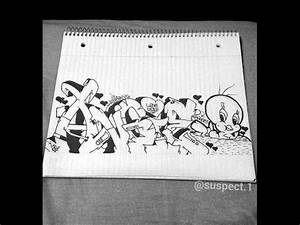 How to draw Graffiti Letters - Step by step for beginners ...
