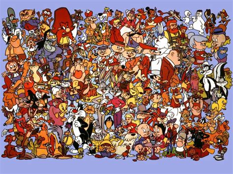 The 1981 Looney Tunes Character Chart