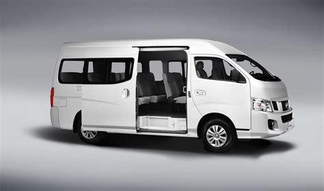 urvan nissan 2015 nissan nv350 urvan reaparece en el mercado nacional neoauto