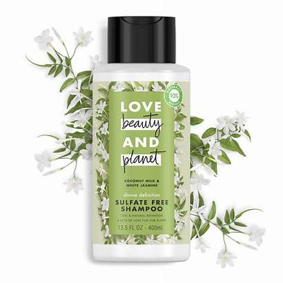 Shampoo Planet Beauty Coconut Milk Hair Sulfate