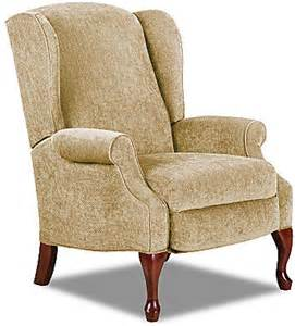 jcpenney virginia iii high leg reclining wing chair 171 never miss a sale