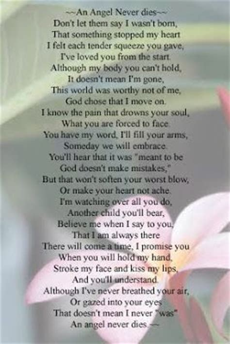 author   poem  unknown infant loss child loss