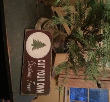 primitive metal christmas signs with cut your own trees primitive woodworks by kld primitive signs furniture home decor