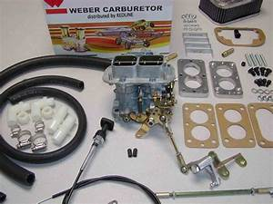 Weber Carburetor Kit Jeep Wrangler  U0026 Cj7 4 2l 258  Fits 1978 Carter 2bbl