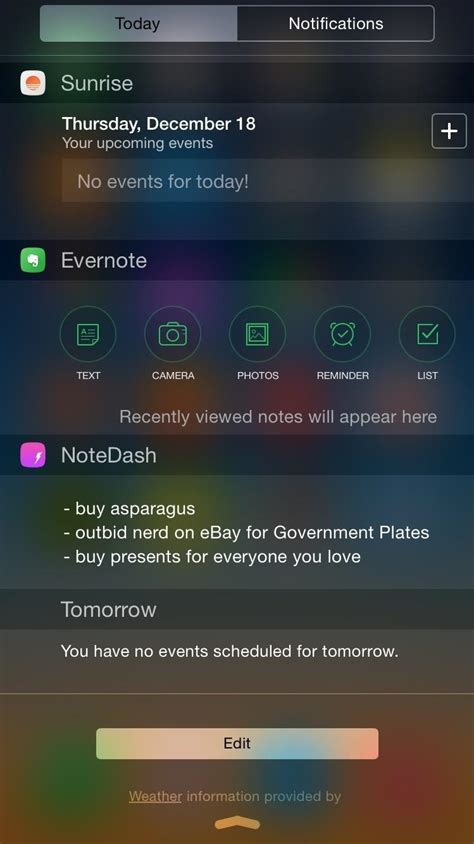 how to see notifications on iphone the 10 best notification center tweaks for your iphone