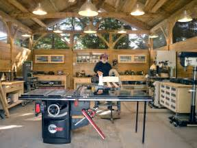 Timber Frame Woodworking Shop