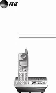 At U0026t Answering Machine E5934b User Guide
