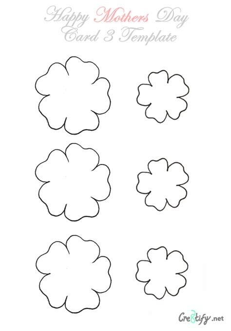 small template small flower template pictures to pin on pinsdaddy