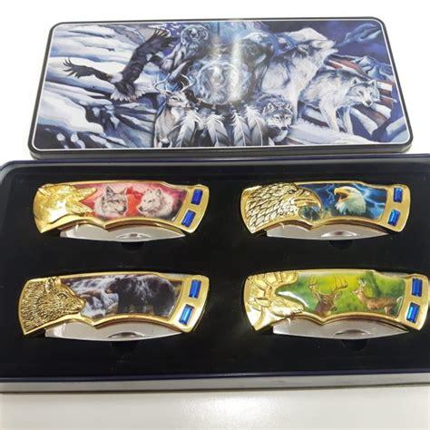 wares themed wilderness folding knife piece