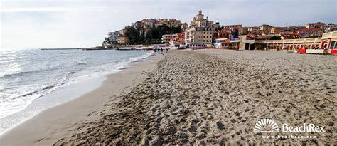 porto maurizio strand porto maurizio imperia liguria italien