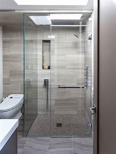 Grey Shower Tile | Houzz