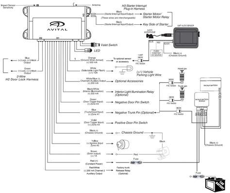 avital 3100 wiring diagram wiring diagram avital 3100 alarm install questions car audio diymobileaudio car stereo