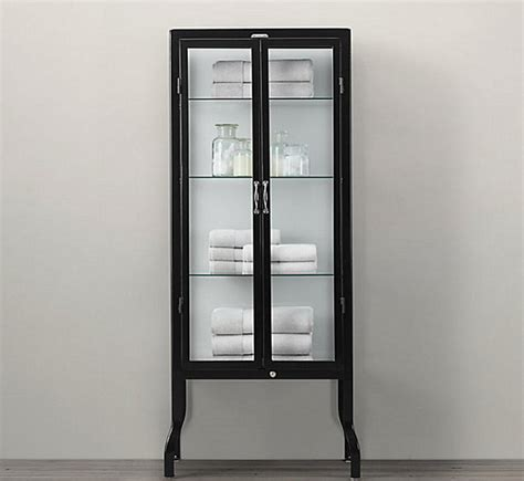 metal cabinet with glass doors glass cabinets for a chic display