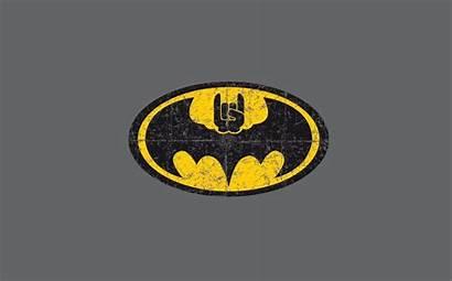 Horns Batman Rock Metal Wallpapers Logos Animals