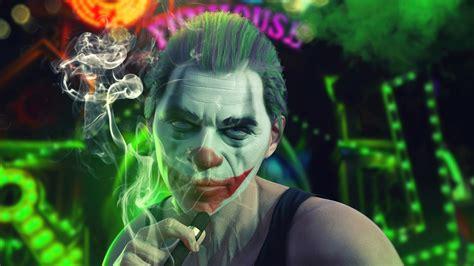 Joker Cool Smoker 4K HD Wallpapers | HD Wallpapers | ID #30890