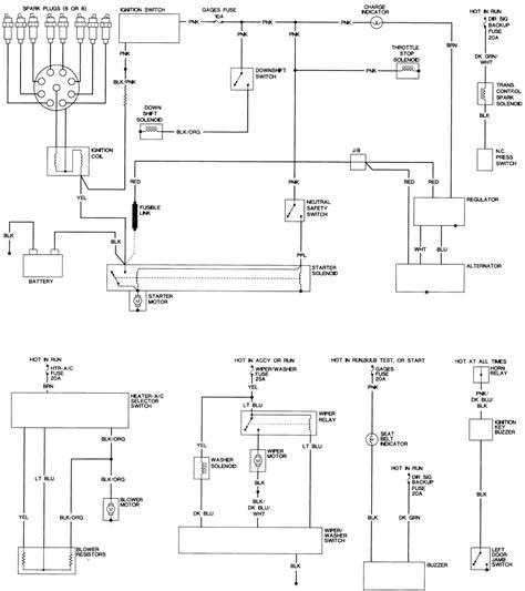 1972 Oldsmobile Cutlas Engine Diagram by Repair Guides Wiring Diagrams Wiring Diagrams