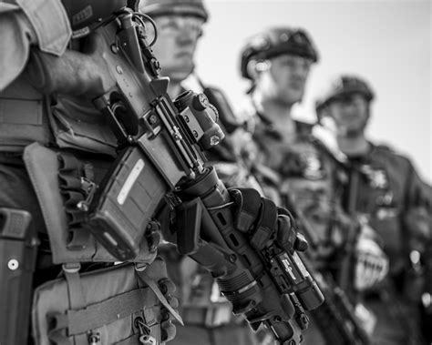 Swat Officers Team Up To Provide Firepower For Southern