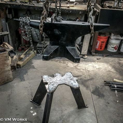 anvil stand blacksmithing pinterest blacksmithing