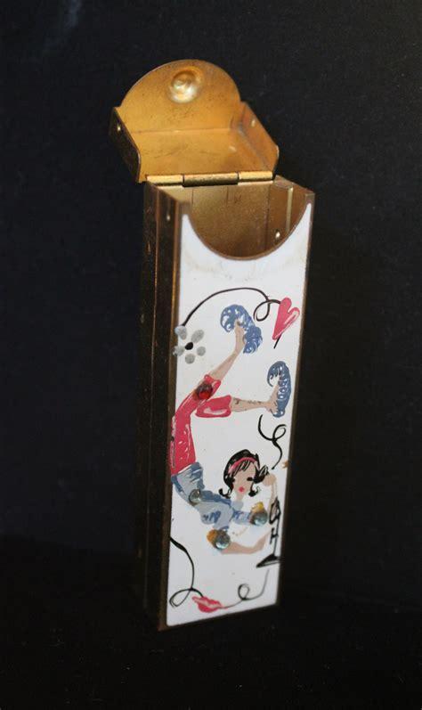 Ward Art Creations   Chewing gum stick holder Metal case