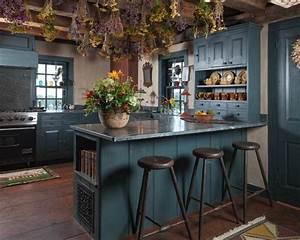 Mur Bleu Pétrole : colores para cocinas 2017 70 fotos y tendencias modernas color de la cocina en 2019 kitchen ~ Melissatoandfro.com Idées de Décoration