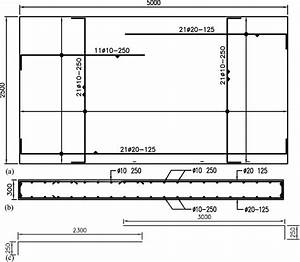 Reinforcement Layout Of Slabs   A  Plan View Of S1 And S2