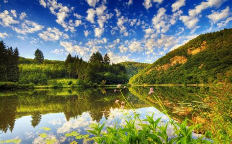 Beautiful Desktop Picture by Beautiful Nature Place And Lake Desktop Backgrounds Pictures