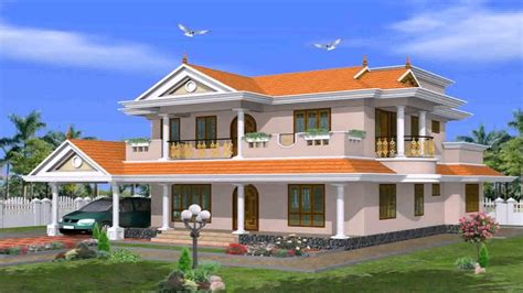 kerala style house elevation gallery youtube