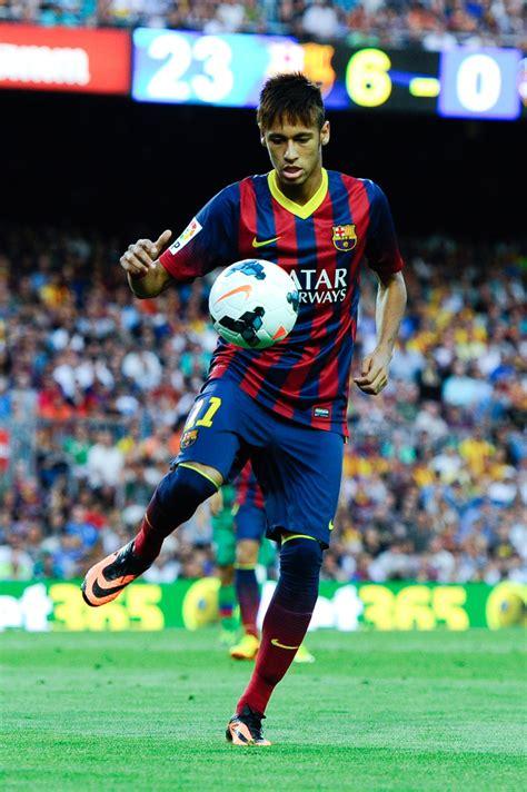 neymar   fc barcelona  levante ud la liga
