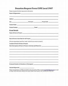 43 Free Donation Request Letters  U0026 Forms  U1405 Template Lab