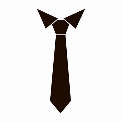 Necktie Vector Tie Clip Icon Neck Suit
