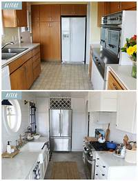 kitchen remodel before and after Small Kitchen Remodel Reveal! - The Inspired Room