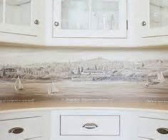 washable wallpaper for kitchen backsplash 1000 images about wallpaper backsplash on