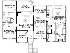 what is a split floor plan freeman split level home plan 013d 0092 house plans and more