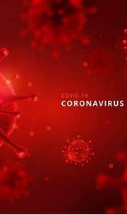 Free Vector   Monochromatic coronavirus background