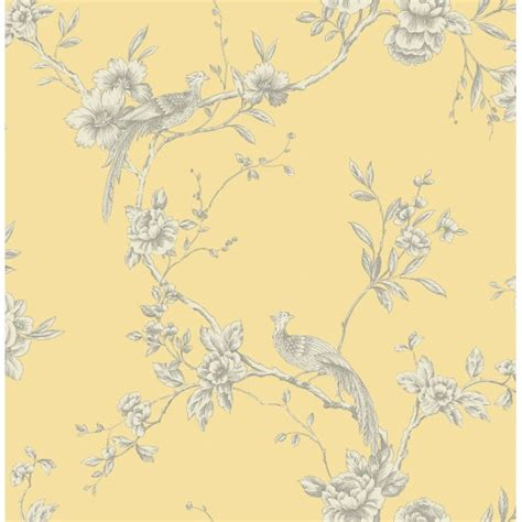 Arthouse Chinoise Wallpaper Yellow Decorating Bm