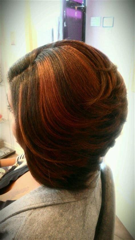 red swing bob salon adeaux hair weaves wigs pinterest bobs salon style  style