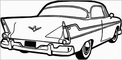 Coloring Pages Cars Classic Antique Sports Coloringbay