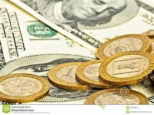 Close-up Money Dollars Background Stock Photos