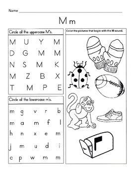 Letter M Phonics Worksheets Worksheets For All Download