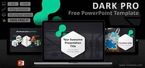 Templates Agenda Dark Pro Modern Powerpoint Template