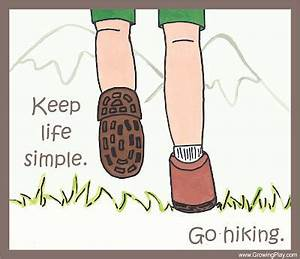 Keep Life Simpl... Simple Hiking Quotes