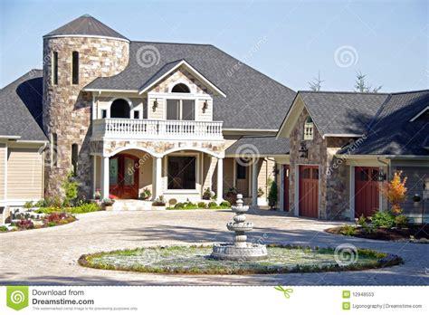 upscale luxury home stock  image
