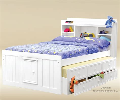 Full Size Bed For Girls Full Size Captains Trundle Bed