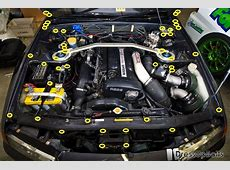 Dress Up Bolts Engine Bay Kit and RB26 Kit Nissan